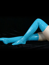 Socks/Stockings Ninja Zentai Cosplay Costumes Solid Stockings PVC Unisex Halloween Christmas