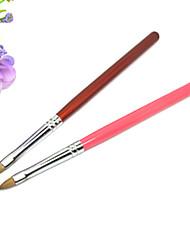 1pcs Wood UV Gel Nail Art Pen