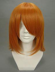 Cosplay Perücken Cosplay Mikoto Misaka Orange Kurz Anime Cosplay Perücken 40 CM Hitzebeständige Faser Frau