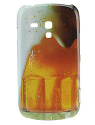 Bier Pattern Hard Case für Samsung Galaxy S3 Mini I8190
