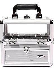 1pcs color seleccionable Organizador PVC Caja cosmética (BB-155D, 1.900 g)