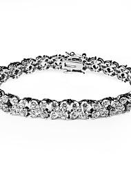 Women's Tennis Bracelet Alloy Crystal/Cubic Zirconia