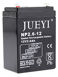 12V 2.6 Ah Sealed Rechargeable Battery NP2.6-12