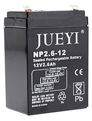 12В 2,6 Ач аккумулятор запечатан np2.6-12