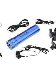 2-em-1 lanterna recarregável Speaker Portátil +