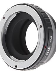 Rollei Lens per Micro 4/3 Four Thirds System Camera Mount Adapter per Olympus PEN E-P1 E-P2, Panasonic Lumix DMC-GF1, GH1, G1