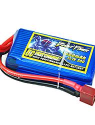 1300mAh 11.1V/3S bateria Lipo 35C para o modelo de RC