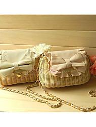 Women's Princess Lovely Woven Crossbody Bag