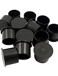1000Pcs Cylindrical Black Medium Tattoo Ink Cup