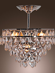 Luxuriant Crystal Chandelier with 5 Lights