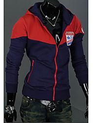 hoodie des hommes avec des bloc de couleur