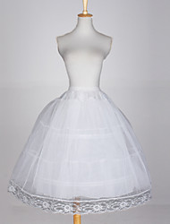 Slips Ball Gown Slip 3 Tulle Netting Taffeta White