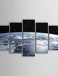 Hand-painted Oil Painting Abstract Set of 5 1302-AB0316
