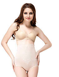 Chinlon and Cotton High Waist Shaper Brief Daily Wear Shapewear