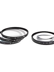 4pcs 67mm Close-Up Filter Kit voor camera met stofzaksysteem (+1, +2, +4, +10)