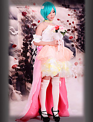 Cosplay Costume Inspired by Macross Frontier Ranka Lee Wedding Dress