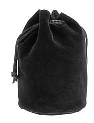 Защитная сумка фланель хлопка для объектива камеры C3 (80 * 140 мм, черный)