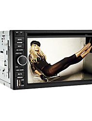 6.2-inch 2 Din TFT Screen In-Dash Car DVD Player With Bluetooth,Navigation-Ready GPS,RDS,TV,iPod-Input