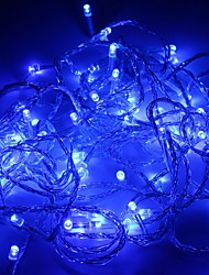 Wedding Décor 100-Light Blue LED  Decoration String (10m, 220V)