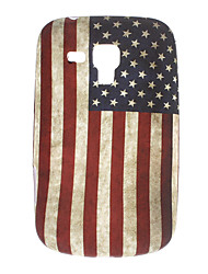 Retro Design Das Old Glory Pattern Soft Case für Samsung Galaxy Trend Duos S7562