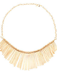 Jewelry Choker Necklaces Party / Daily Alloy Women Gold Wedding Gifts