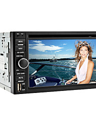 6.2 Inch 2Din Car DVD Player with DVB-T, GPS, RDS, iPod