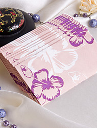 Hübsche Blumen Theme Gast Handtücher (Set von 12 Packs)