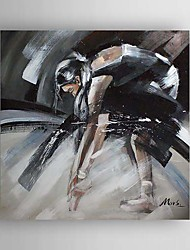 Hand Painted Oil Painting Abstract People 1303-AB0318