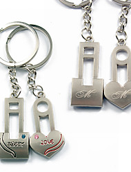 Personalized Keyring - Sweet Love (Set of 6 Pairs)