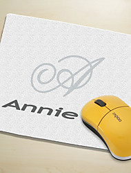 Personalized Mouse Pad - Initial And Name (More Colors)