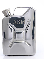 Gift Groomsman Personalized Stainless Steel 4-oz Flask With A Handle