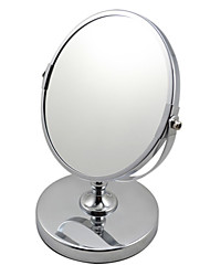 Girl Lady Women Beauty Make up Cosmetic Dual Side Normal Magnifying Stand Mirror A