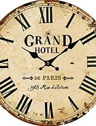 rétro style vintage horloge murale