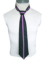 Cosplay Accessories Inspired by Ouran High School Host Club Kaoru Hitachiin Anime Cosplay Accessories Tie Black / Purple Uniform Cloth