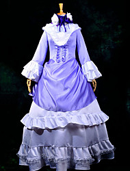 Inspired by GOSICK Victorique De Blois Anime Cosplay Costumes Cosplay Suits Patchwork Purple Top