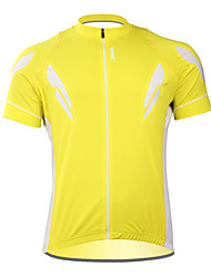 Santic 100% Polyester Short Sleeve Quick-drying Cycling Jersey for Men C02023Y
