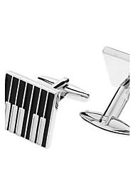 z&de piano X® padrão chave liga abotoaduras