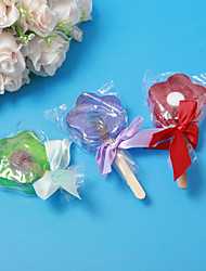 Flower Design Soap Wedding Favor - Set of 4(More Colors)