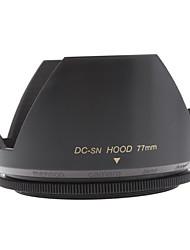Mennon Lens Hood 77 milímetros para lentes de câmera Digital Lentes 16 milímetros Film +, + 28 milímetros