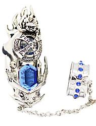 anneau cosplay inspiré par renaît! dix ans plus tard Mukuro Rokudo bleu menuisier anneau