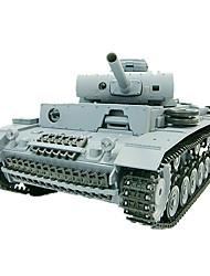 1:16 RC Tanque Tiger Tanks radio control remoto de humo controlada por radio Juguetes Vehículos