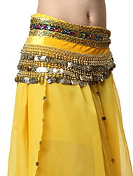 Performance Dancewear Velvet with Coins Belly Dance Belts For Ladies More Colors