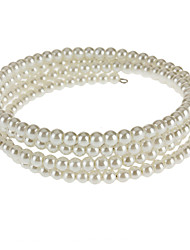 Four Rows Of Pearl Bracelet