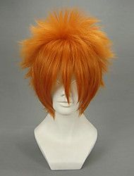 Cosplay Wigs Vampire Knight Akatsuki Cain Orange Short Anime Cosplay Wigs 30 CM Heat Resistant Fiber Male