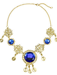 Performance Alloy with Gems Belly Dance Necklace More Colors