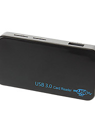 High Speed USB 3.0 CARD READER 5Gbps support Windows XP/Vista/7