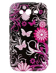 Бабочка Стиль Жесткий чехол для Samsung Galaxy I9082 дуэта