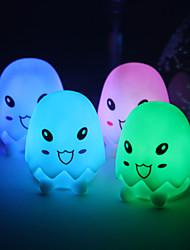 мило винил яйцо светодиодные лампы - комплект из 4 (изменение цвета, встроенный в боты в ячейке)