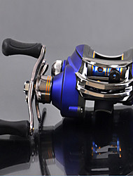 DYNAMIC (DM-120LA) Left Handle 10+1 Ball Bearing Blue Casting Reel