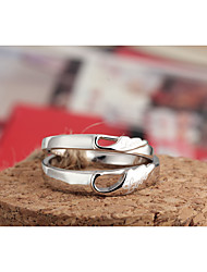 Fabulous 925 Sterling Silver Couples Rings